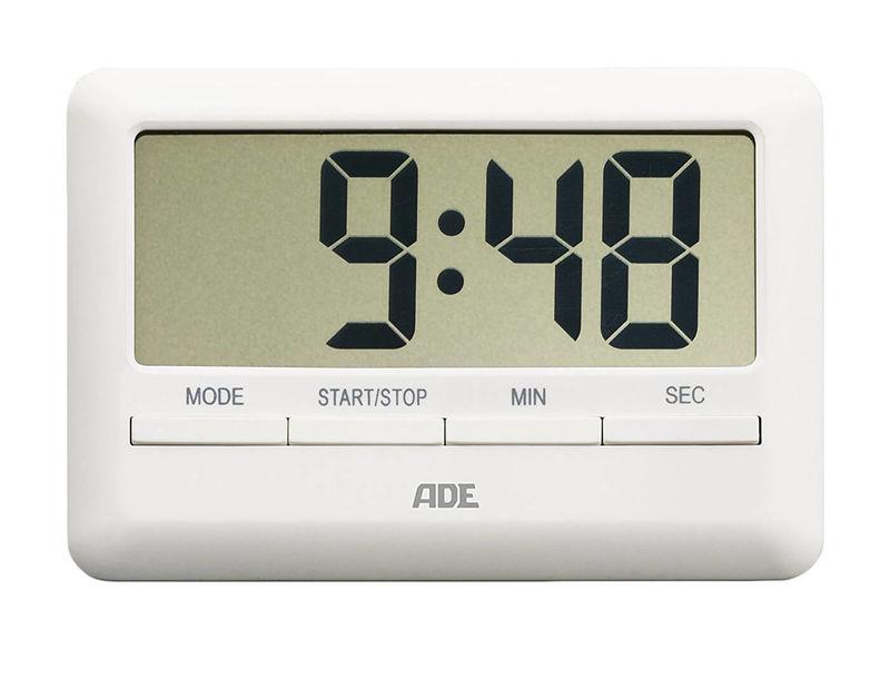 ADE TD 1600 Timer da cucina digitale bianco