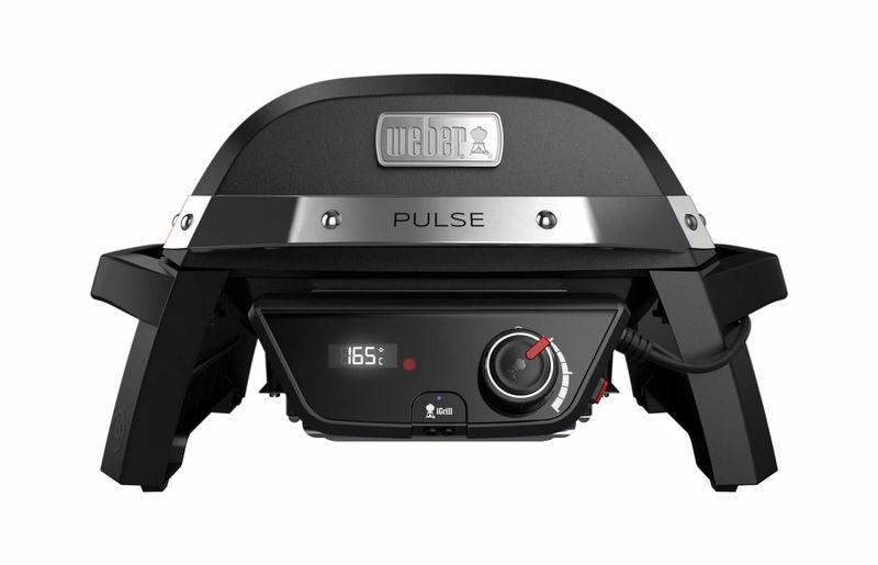 Weber Elektrogrill Maroon : Weber pulse black grill nettoshop