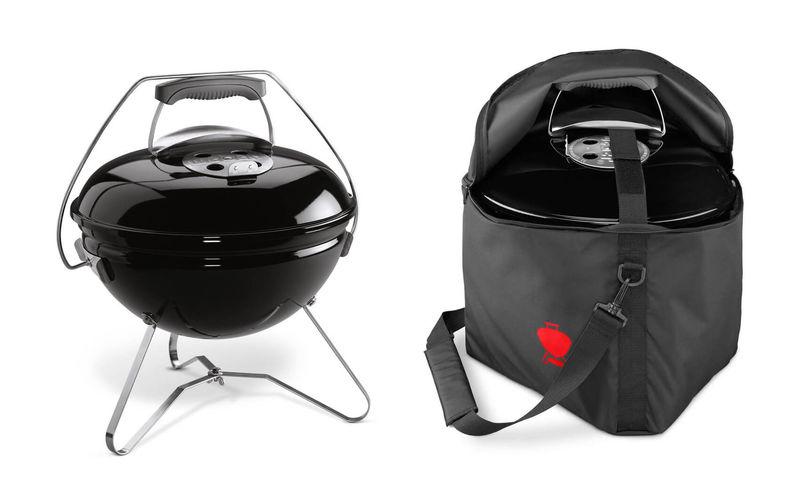 Weber Holzkohlegrill Smokey Joe : Weber smokey joe premium 37cm black grill inkl. transporttasche kaufen