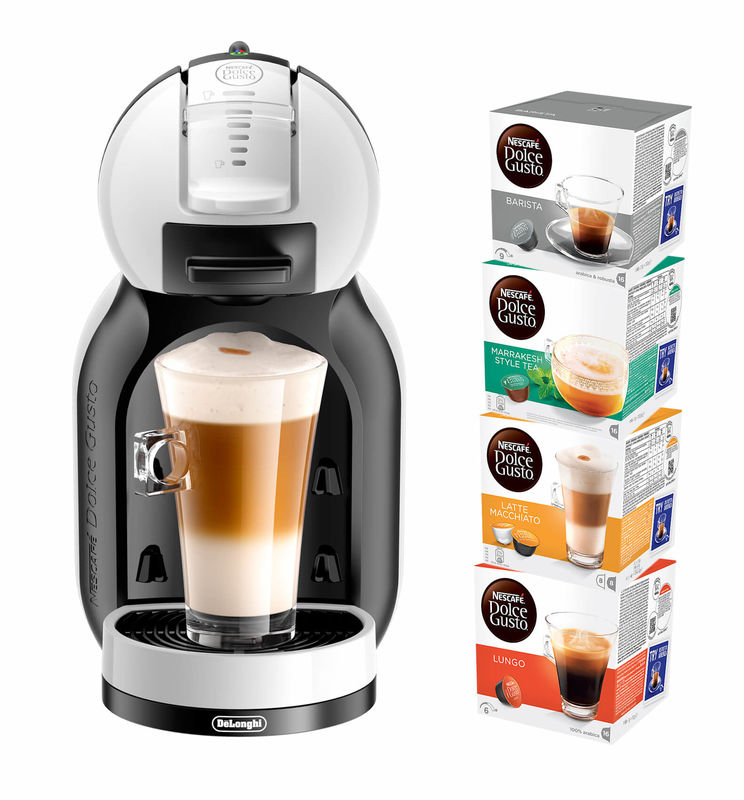 70e203564 Buy De Longhi Dolce Gusto EDG305.WB Mini Me Starter Kit cap.coffee machine