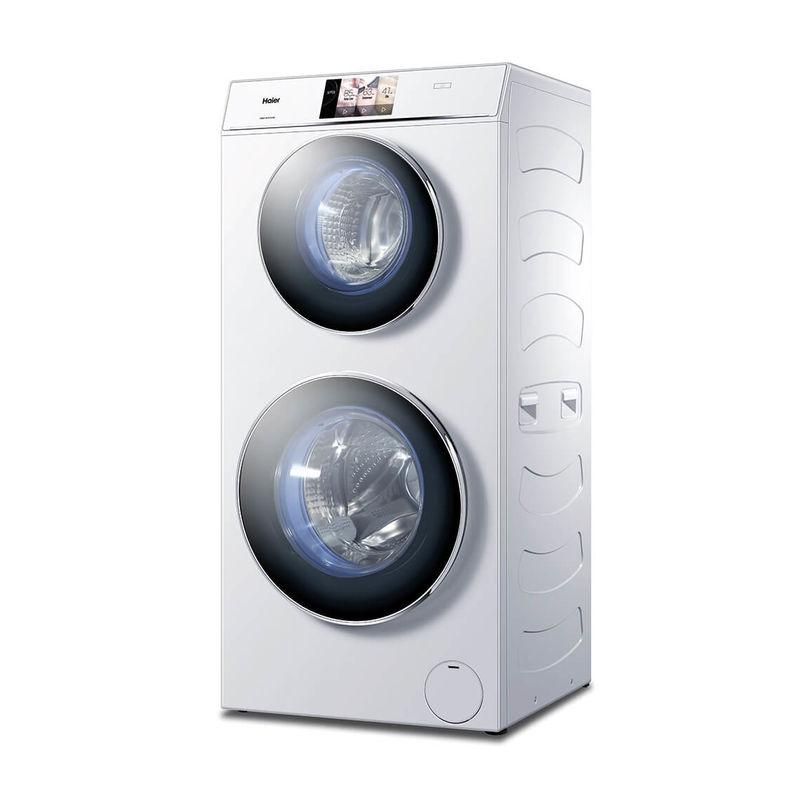 Haier Hwd120 B1558u Washer Dryer Combo White Left